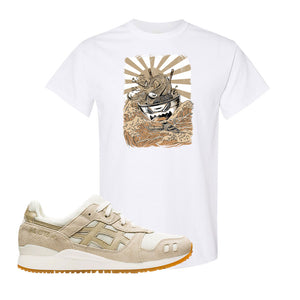 GEL-Lyte III 'Monozukuri Pack' T Shirt | White, Ramen Monster