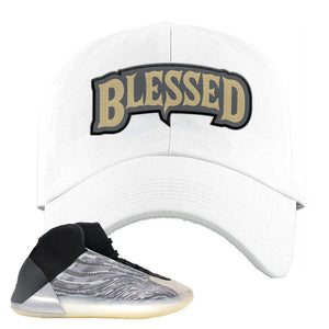 Yeezy Quantum Dad Hat | White, Blessed Arch