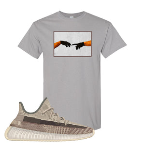 Yeezy 350 v2 Zyon T Shirt | Gravel, Creation