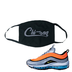 Air Max Plus Sky Nike Face Mask | Black, Chiraq