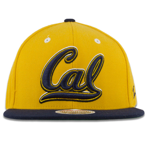 University of California Berkely Bears Yellow on Navy Snapback Hat