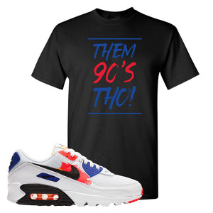Air Max 90 Paint Streaks T-Shirt | Them 90s Tho, Black