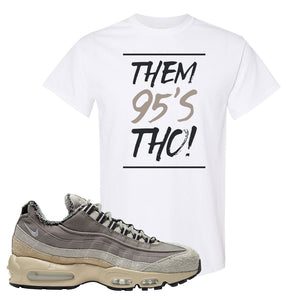 Air Max 95 SE ACG T Shirt | Them 95's Tho, White