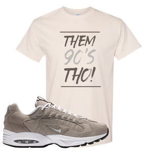 Air Max Triax 96 Grey Suede T Shirt | Them 90's Tho, Natural