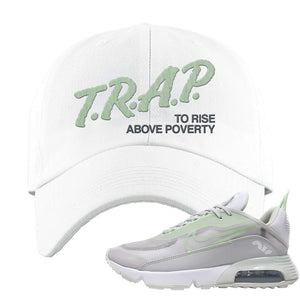 Air Max 2090 'Vast Gray' Dad Hat | White, Trap To Rise Above Poverty