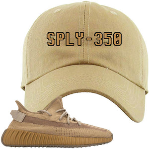 Yeezy Boost 350 V2 Earth Sneaker Dad Hat To Match | SPLY-350, Khaki