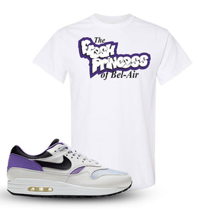 Air Max 1 DNA Series Sneaker White T Shirt | Tees to match Nike Air Max 1 DNA Series Shoes | Fresh Princes Of Bel Air