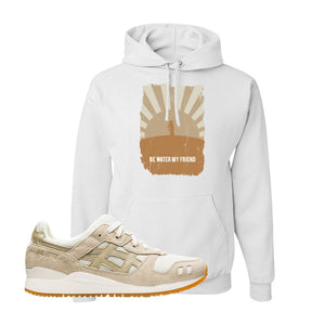 GEL-Lyte III 'Monozukuri Pack' Hoodie | White, Be Water My Friend Samurai
