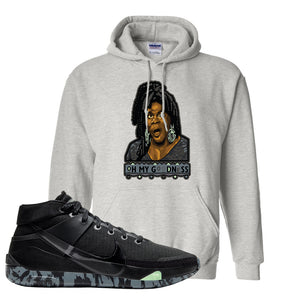Nike KD 13 Black And Dark Grey Pullover Hoodie | Oh My Goodness, Ash