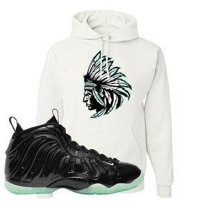Foamposite One 2021 All Star Hoodie | Indian Chief, White
