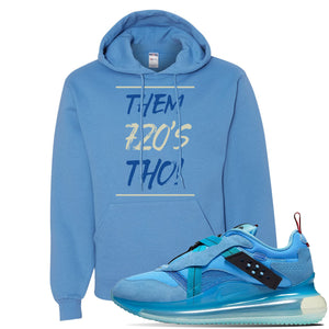 Air Max 720 OBJ Slip Light Blue Hoodie | California Blue, Them 720'S Tho