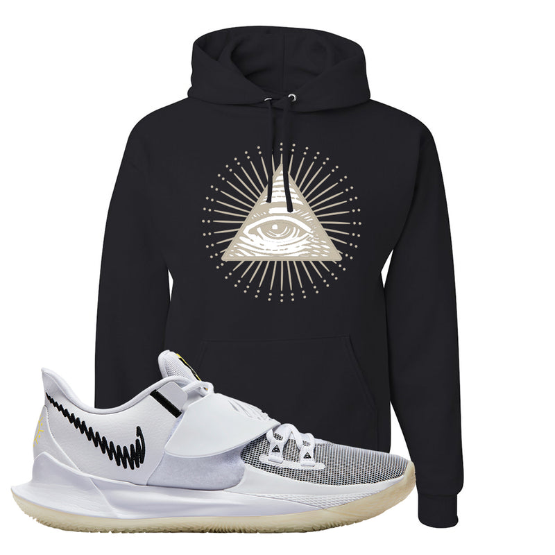 Kyrie Low 3 Hoodie | Black, All Seeing Eye