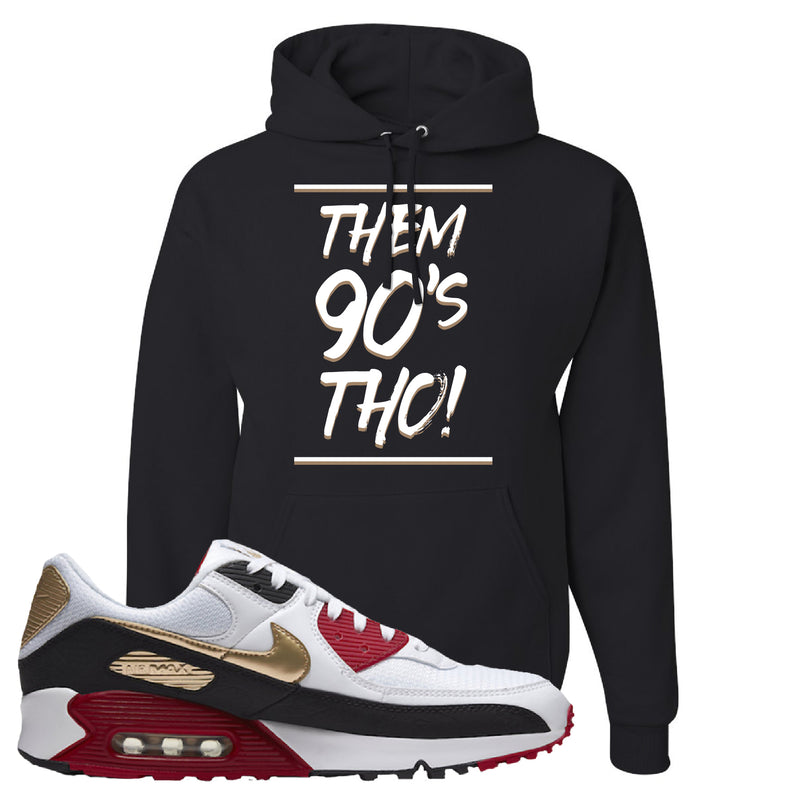 Air Max 90 Chinese New Year Hoodie | Black, Them 90's Tho