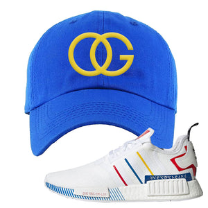 NMD R1 Olympic Pack Dad Hat | Royal Blue, OG