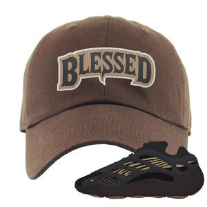 Yeezy 700 v3 Eremial Dad Hat | Blessed Arch, Brown