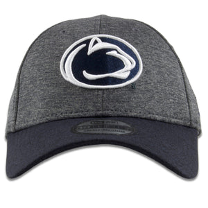 Penn State Nittany Lions Dark Gray on Navy Blue 39Thirty Flexfit Cap