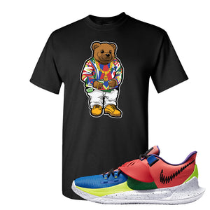 Kyrie Low 3 NY vs NY T Shirt | Sweater Bear, Black