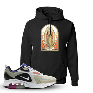 Air Max 200 WMNS Fossil Sneaker Black Pullover Hoodie | Hoodie to match Nike Air Max 200 WMNS Fossil Shoes | Virgin Mary