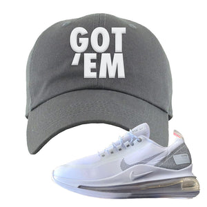 Air Max 720 Utility White Dad Hat | Dark Gray, Got Em