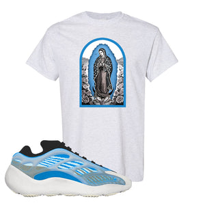 Yeezy 700 v3 Azareth T Shirt | Ash, Virgin Mary