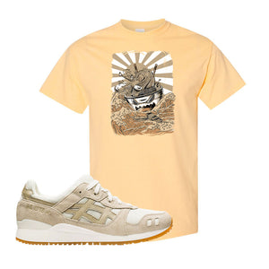 GEL-Lyte III 'Monozukuri Pack' T Shirt | Yellow Haze, Ramen Monster