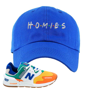 997S Multicolor Sneaker Royal Dad Hat | Hat to match New Balance 997S Multicolor Shoes | Homies