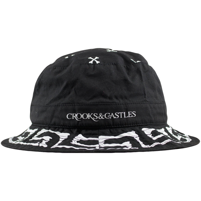 Crooks and Castles Muerto Woven Bucket Hat