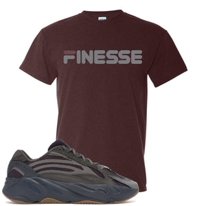 Yeezy Boost 700 Geode Sneaker Hook Up Finesse Russet T-Shirt