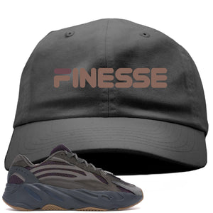 Yeezy Boost 700 Geode Sneaker Hook Up Finesse Gray Dad Hat