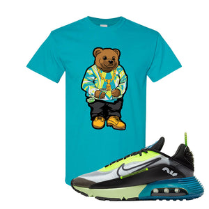 Air Max 2090 Volt T Shirt | Sweater Bear, Tropical Blue