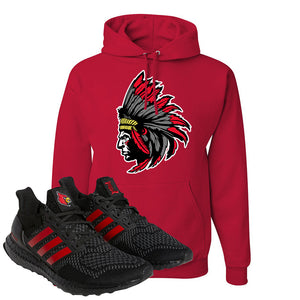 Ultra Boost 1.0 Louisville Hoodie | Indian Chief, Red