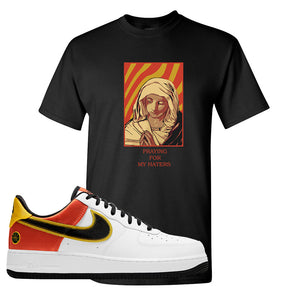 Air Force 1 Low Roswell Rayguns T Shirt | God Told Me, Black