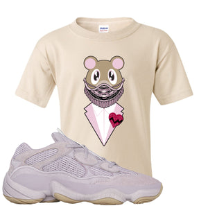 Yeezy 500 Soft Vision Yeezy Sneaker Mask Sand Sneaker Hook Up Kid's T-Shirt