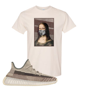 Yeezy 350 v2 Zyon T Shirt | Natural, Mona Lisa Mask