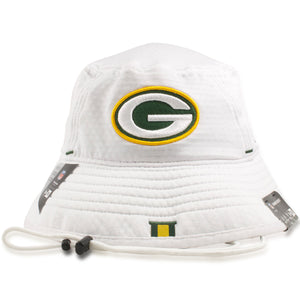 Green Bay Packers 2019 Training Camp White Training Bucket Hat
