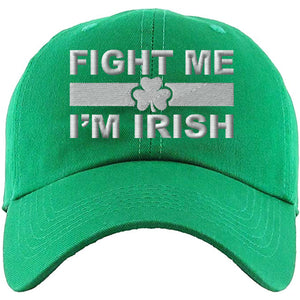Show your Irish Pride for St.Patrick's Day with this must-have St. Patrick's Day dad hat