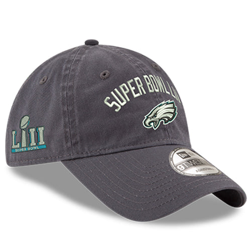 Philadelphia Eagles Super Bowl LII Champions Gray Adjustable Dad Hat