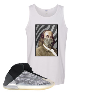 Yeezy Quantum Tank Top | White, Franklin Mask
