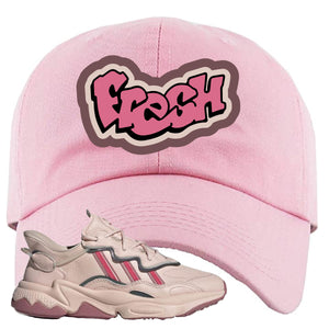 Women Ozweego Icy Pink Dad Hat | Fresh, Pink