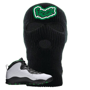 Jordan 10 Seattle Supersonics Ski Mask | Fresh, Black
