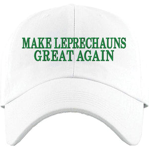 Show your Irish Pride for St.Patrick's Day with this must-have St. Patrick's Day white dad hat