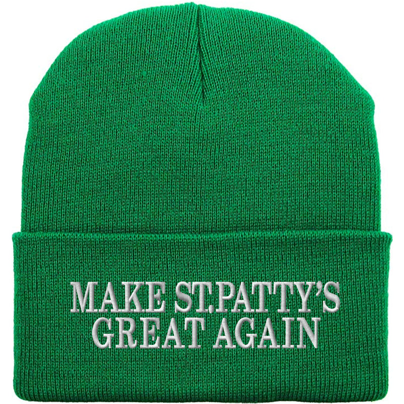 Show your Irish Pride for St.Patrick's Day with this must-have St. Patrick's Day beanie