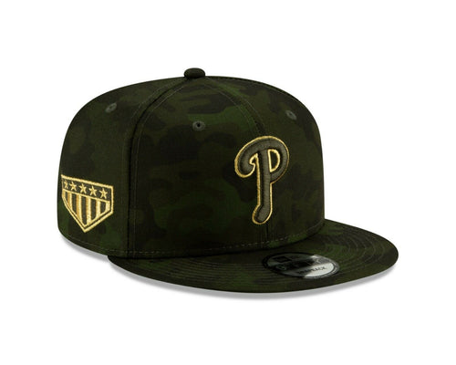 811933559956ef Philadelphia Phillies 2019 Armed Forces Day On Field 9FIFTY Snapback Hat