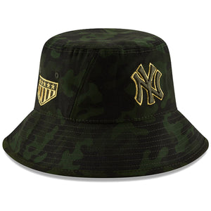 New York Yankees 2019 Armed Forces Day On Field New Era Bucket Hat