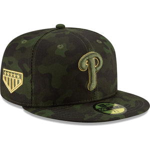 Philadelphia Phillies 2019 Armed Forces Day On Field 59FIFTY Fitted Cap