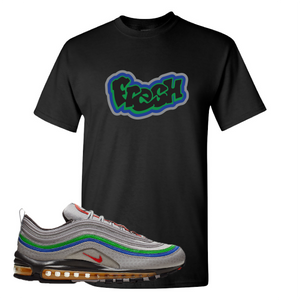 Air Max 97 Atmosphere Gray Fresh Black Sneaker Hook Up T-Shirt