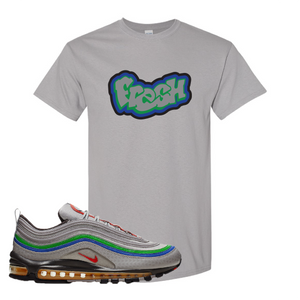 Air Max 97 Atmosphere Gray Fresh Gravel Sneaker Hook Up T-Shirt