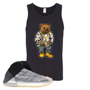 Yeezy Quantum Tank Top | Black, Sweater Bear
