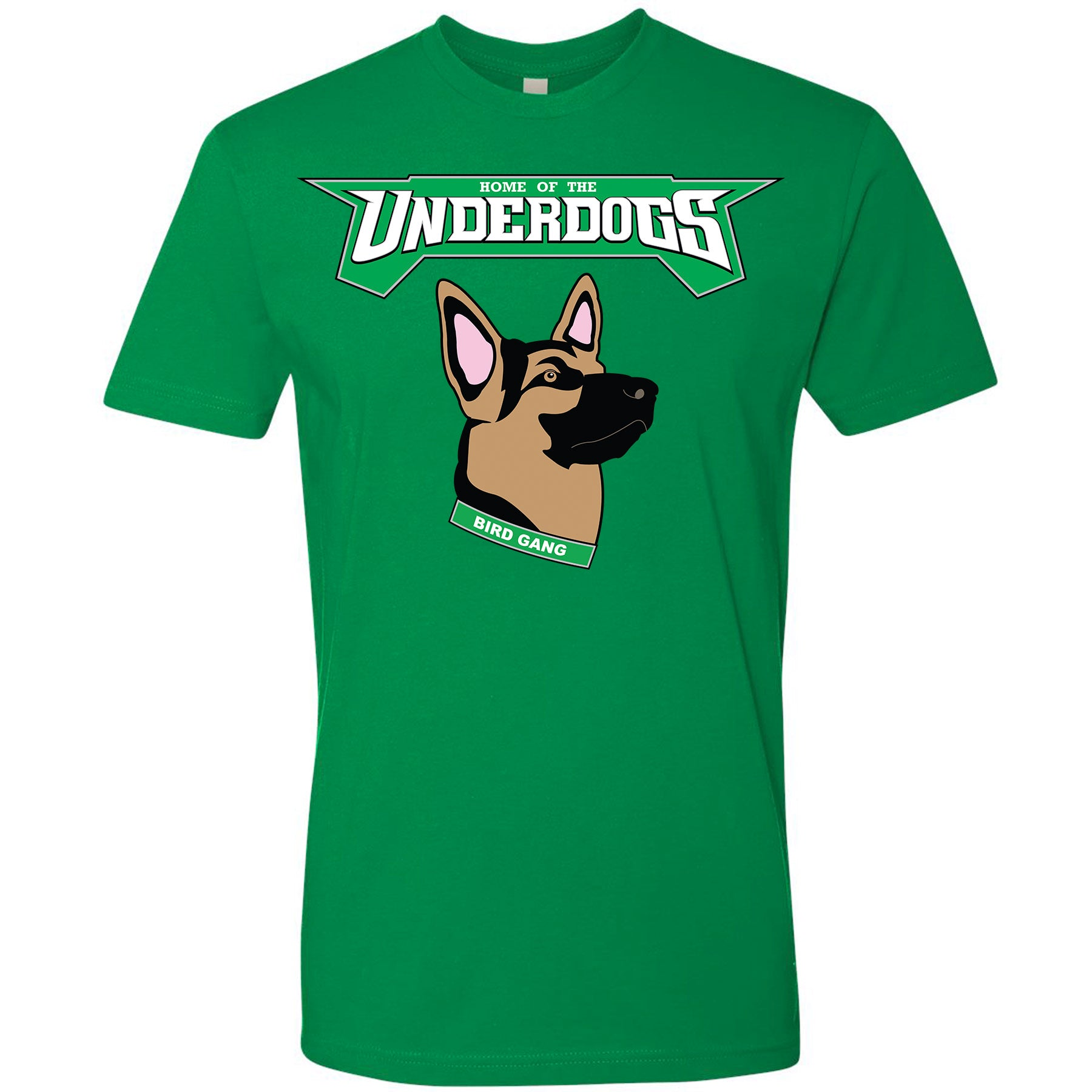 a5318b68842 let's go eagles! the philadelphia eagles underdogs t-shirt says the word  underdogs printed