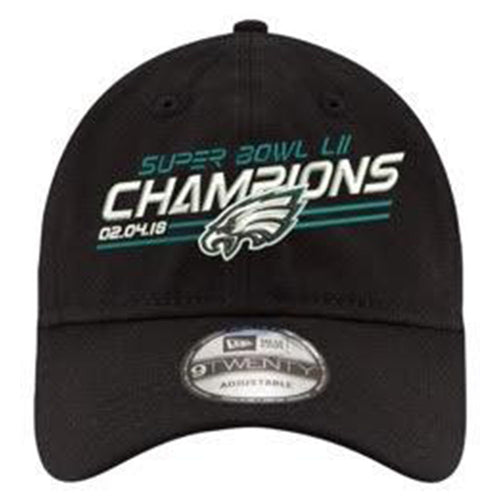Philadelphia Eagles Super Bowl LII Champions Black 9Twenty Dad Hat